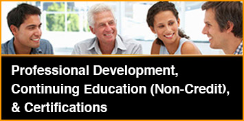 Professional Development, Certifications, Continuing Education